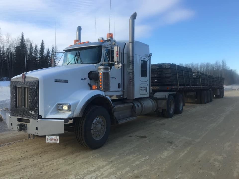 R-08 hauling mats