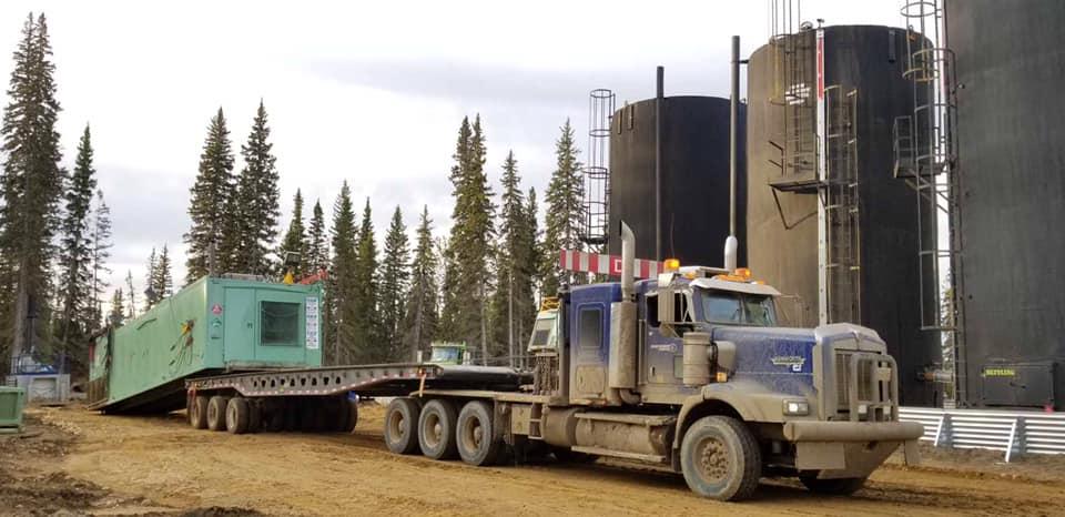 R16 rig move